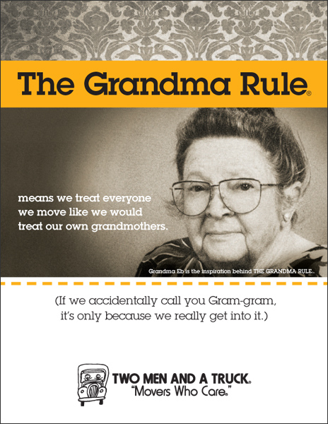 Moving Truck Companies >> The Grandma Rule, Rules!