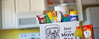 Pack Up Your Box of Moving Day Essentials
