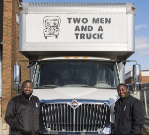 Brothers from Nigeria have both become Franchisees