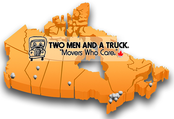 TWO MEN AND A TRUCK® Franchise Locations