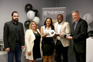 TWO MEN AND A TRUCK® Calgary North hosts its official Grand Opening