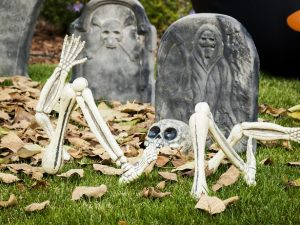 Reuse your moving boxes for Halloween decorations