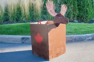 "TWO MEN AND A TRUCK® Halloween ""Boxtume"" ideas Part 1: Canadian Moose"
