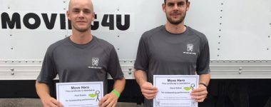 High Five Friday: Move Heroes Paul and Dave