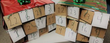 Get crafty this Christmas and make an advent calendar