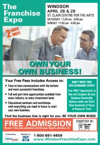 Visit TWO MEN AND A TRUCK® at the Franchise Expo Windsor