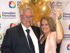 Canadian Franchise Association Award