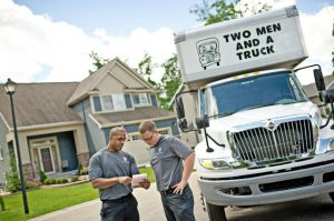 Two men and a truck home moving