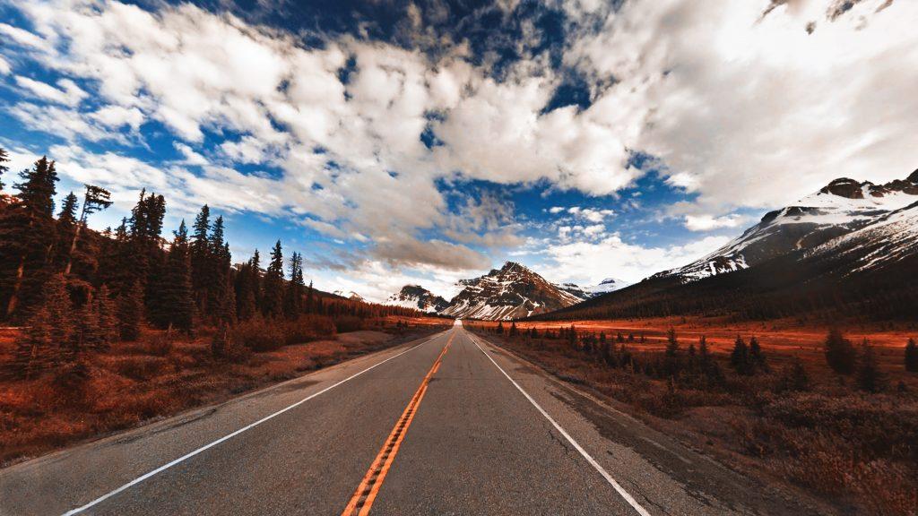 Traveling long distances through Canada
