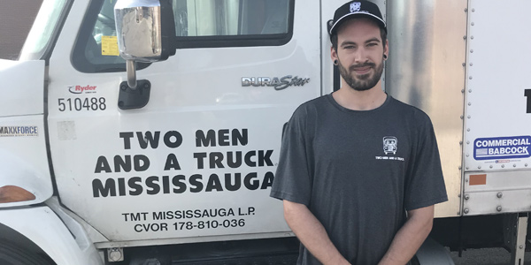 Greg, a mississauga mover